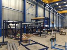 Machine bouwen tbv tapijtindustrie